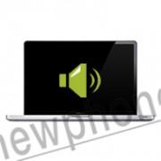 """Macbook A1278 13"""" speaker reparatie"""
