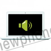 "MacBook A1342 13"" speaker reparatie"