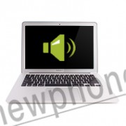 MacBook Air, Speaker reparatie