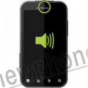 Motorola Defy, Ear speaker reparatie