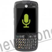 Motorola ES400, Microfoon reparatie
