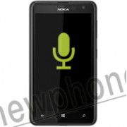 Nokia 625, Microfoon reparatie