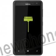 Nokia 625, Oplaadpoort / laad aansluiting reparatie