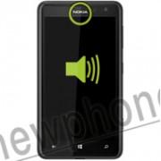 Nokia 625, Ear speaker reparatie