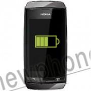Nokia Asha 306, Accu reparatie