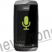 Nokia Asha 306, Microfoon reparatie