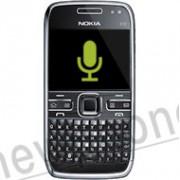 Nokia E72, Microfoon reparatie