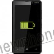 Nokia Lumia 820, Accu reparatie