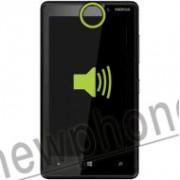 Nokia Lumia 820, Ear speaker reparatie