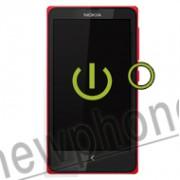 Nokia X aan uit knop reparatie