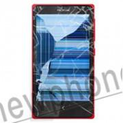 Nokia X scherm reparatie