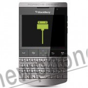 BlackBerry P 9981 Porsche Design, Connector reparatie