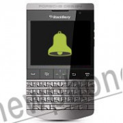BlackBerry P 9981, Back speaker reparatie