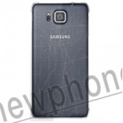 Samsung Galaxy Alpha back cover reparatie