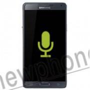 Samsung Galaxy Note 4, Microfoon reparatie