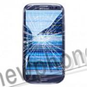 Samsung Galaxy S3, Touchscreen / LCD scherm blauw reparatie