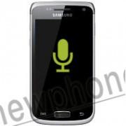 Samsung Galaxy W, Microfoon reparatie