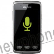 Samsung Galaxy Xcover S5690, Microfoon reparatie