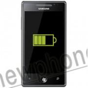 Samsung Omnia 7, Accu reparatie
