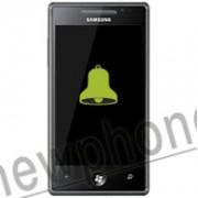 Samsung Omnia 7, Speaker reparatie