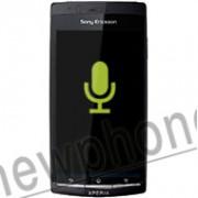 Sony Ericsson Xperia Arc S, Microfoon reparatie