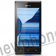 Sony Xperia J Zwart, Touchscreen / LCD scherm reparatie