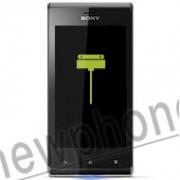 Sony Xperia J Zwart, Connector reparatie