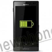 Sony Xperia Sola, Accu reparatie