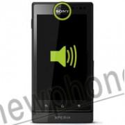 Sony Xperia Sola, Ear speaker reparatie