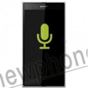 Sony Ericsson Xperia Z Ultra, Microfoon reparatie
