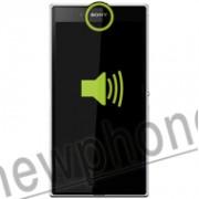 Sony Ericsson Xperia Z Ultra, Ear speaker reparatie
