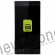 Sony Xperia Z3, Sim slot reparatie