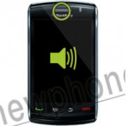 Blackberry Storm 2 9520, Ear speaker reparatie