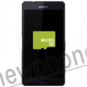 Sony Xperia Z3 compact, Micro SD slot reparatie