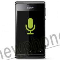 Sony Xperia E, Microfoon reparatie