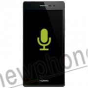 Huawei ascend P7, Microfoon reparatie
