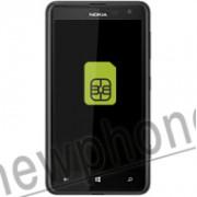 Nokia 625, Sim slot reparatie